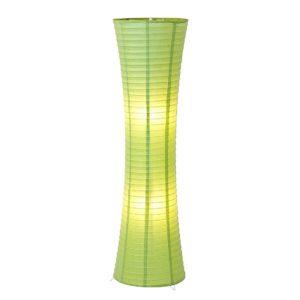 Grüne Stehlampen