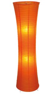 Orange Stehlampe