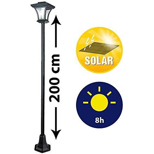 Lunartec Solar Stehlampe