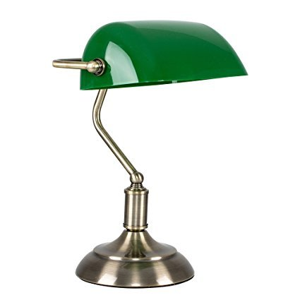 MiniSun Bankerlampe mit Ein- und Ausschalter
