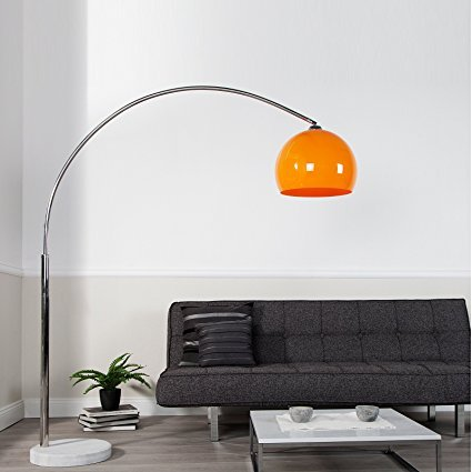 BIG BOW RETRO DESIGN LAMPE ORANGE