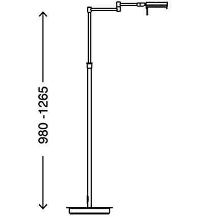 Briloner Leuchten Stehlampe 1283-012