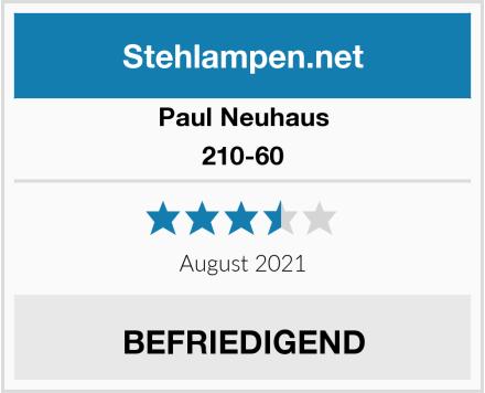 Paul Neuhaus 210-60 Test