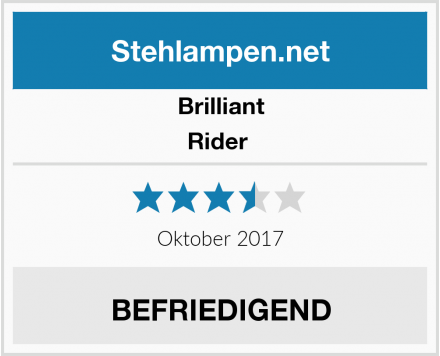 Brilliant Rider  Test