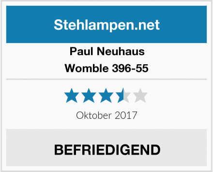 Paul Neuhaus Womble 396-55 Test