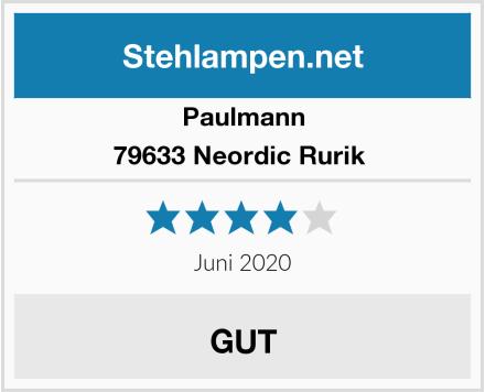 Paulmann 79633 Neordic Rurik  Test