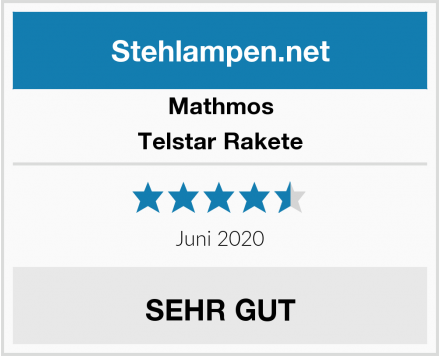 Mathmos Telstar Rakete Test