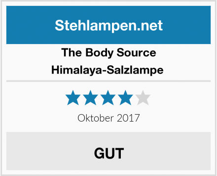 The Body Source  Himalaya-Salzlampe  Test