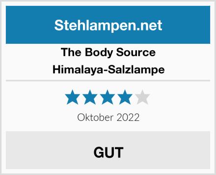 The Body Source Himalaya-Salzlampe Test