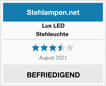 Lux LED Stehleuchte  Test