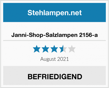 No Name Janni-Shop-Salzlampen 2156-a Test