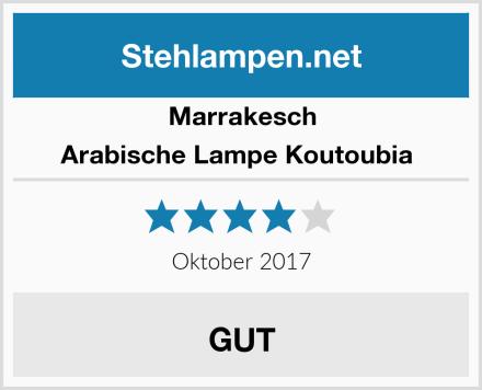 Marrakesch Arabische Lampe Koutoubia  Test