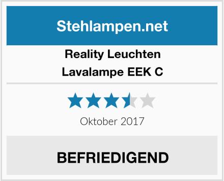 Reality Leuchten Lavalampe EEK C Test