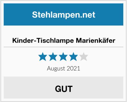 No Name Kinder-Tischlampe Marienkäfer Test