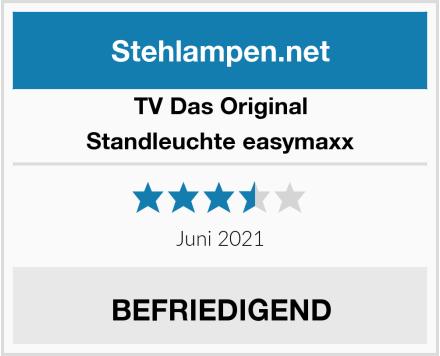 TV Das Original Standleuchte easymaxx  Test