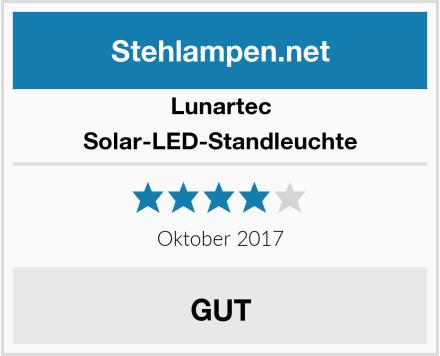 Lunartec Solar-LED-Standleuchte Test