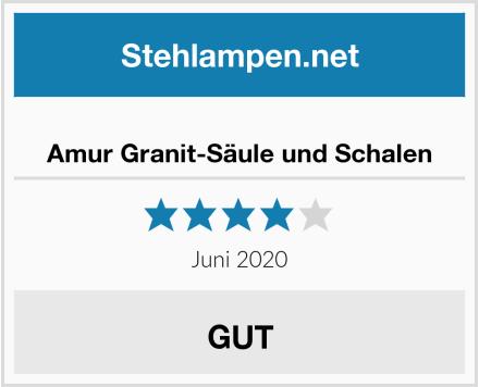 No Name Amur Granit-Säule und Schalen Test
