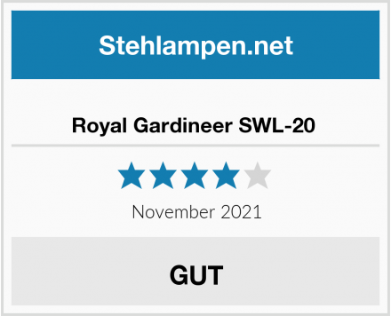 Royal Gardineer SWL-20  Test
