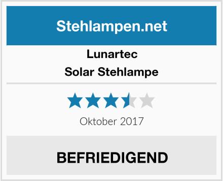 Lunartec Solar Stehlampe Test