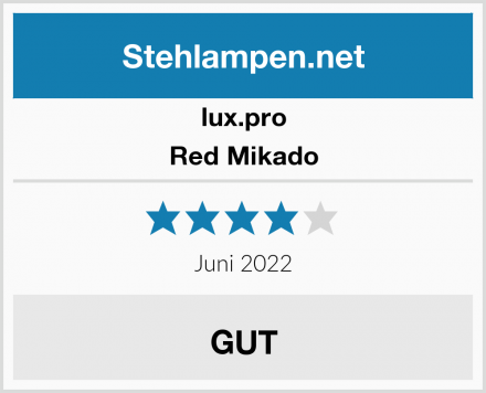 lux.pro Red Mikado Test