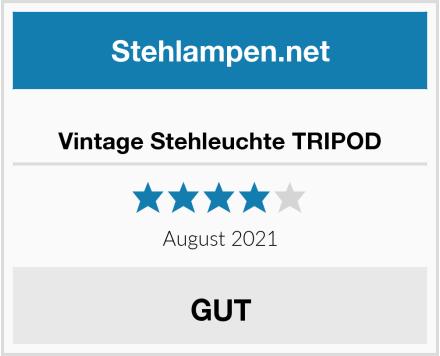Vintage Stehleuchte TRIPOD Test