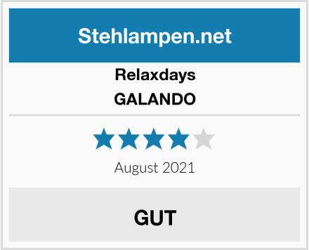 Relaxdays GALANDO Test