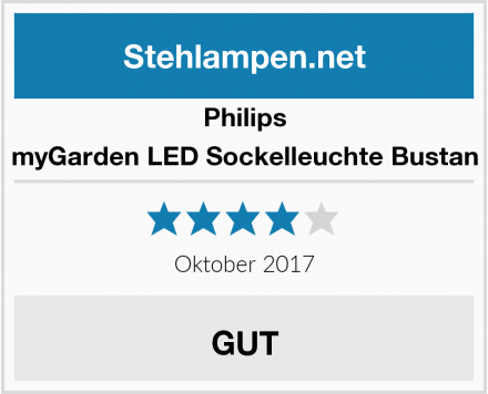 Philips myGarden LED Sockelleuchte Bustan Test