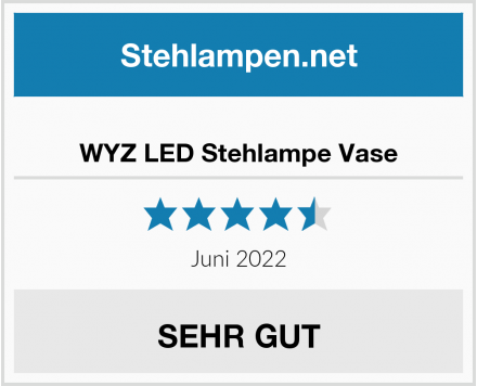 No Name WYZ LED Stehlampe Vase Test