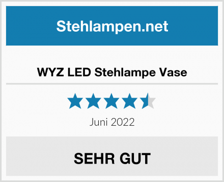 WYZ LED Stehlampe Vase Test