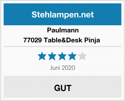 Paulmann 77029 Table&Desk Pinja  Test