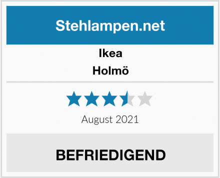 Ikea Holmö Test