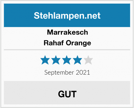 Marrakesch Rahaf Orange Test