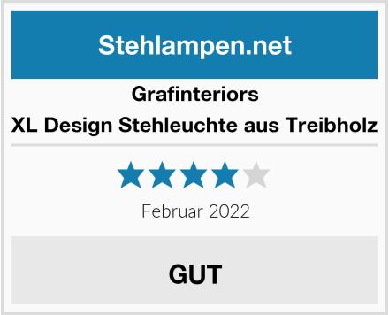 Grafinteriors XL Design Stehleuchte aus Treibholz Test
