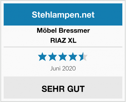 Möbel Bressmer RIAZ XL Test