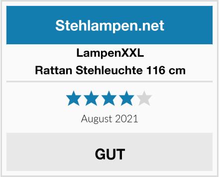 LampenXXL Rattan Stehleuchte 116 cm Test