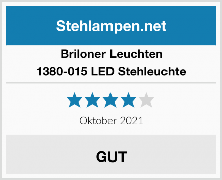 Briloner Leuchten LED Stehleuchte 1380-015 Test