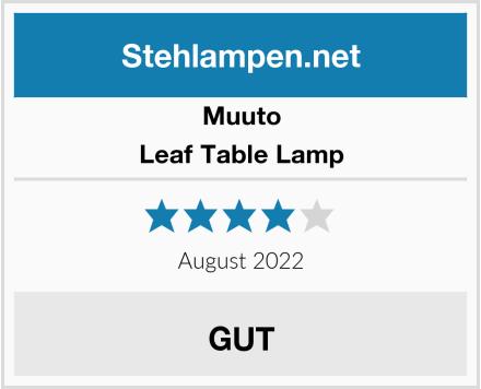 Muuto Leaf Table Lamp Test