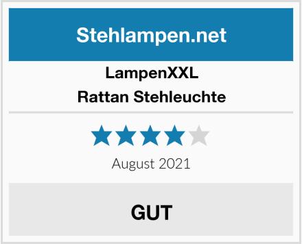 LampenXXL Rattan Stehleuchte Test