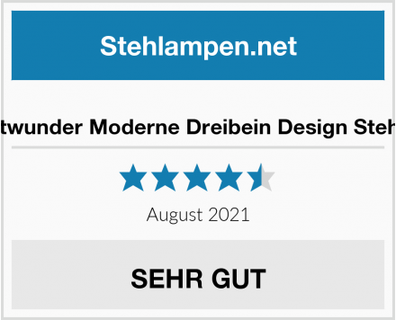 No Name Leuchtwunder Moderne Dreibein Design Stehlampe Test