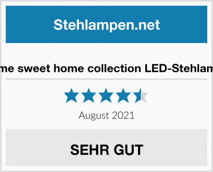 home sweet home collection LED-Stehlampe Test