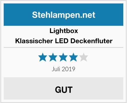 Lightbox Klassischer LED Deckenfluter Test