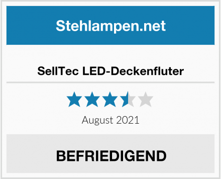 No Name SellTec LED-Deckenfluter Test