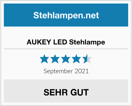 No Name AUKEY LED Stehlampe Test