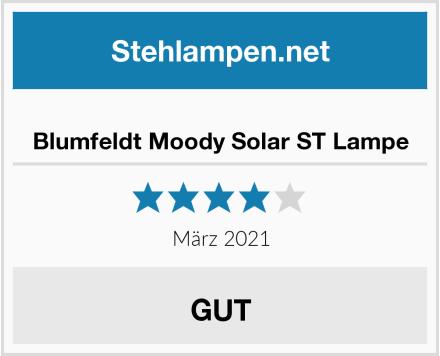 Blumfeldt Moody Solar ST Lampe Test