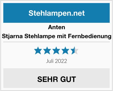 anten Stjarna Stehlampe mit Fernbedienung Test