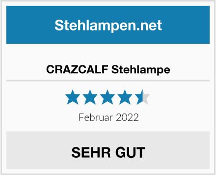 CRAZCALF Stehlampe Test