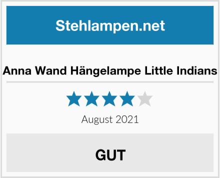 Anna Wand Hängelampe Little Indians Test