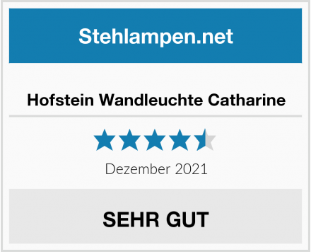 Hofstein Wandleuchte Catharine Test