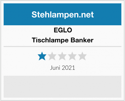 EGLO Tischlampe Banker Test