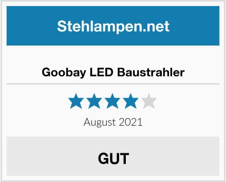 Goobay LED Baustrahler Test